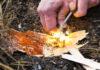 Jak rozpalić ogień w lesie?