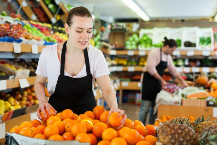 Praca w supermarkecie
